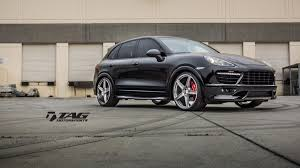 Porsche Cayenne Wheels - porsche cayenne gts with hre tr45 in brushed dark clear hre