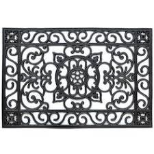 Cast Iron Doormat Cast Iron Doormat With Brush And Scraper Doormat Small Entrance
