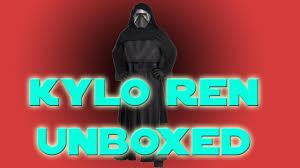 halloween voice changer party city unboxing unbagging the kylo ren deluxe costume youtube