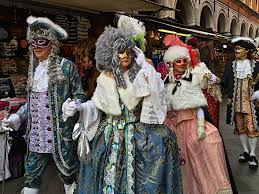 carnevale costumes carnevale di venezia masks costumes boats and fritelle olive
