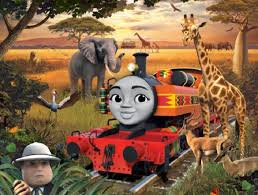 kenyan train joins thomas friends tv show brand south africa