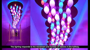 Art Lights Cloud Interactive Light Art Installation For Boffo Show House
