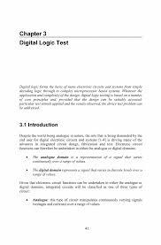 digital logic test springer