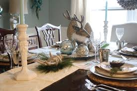 Table Setting Chargers - winter wonderland in the dining room 21 sunshine avenue my table
