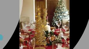 christmas dinner table decorations youtube