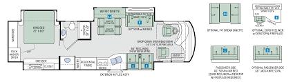 venetian class a diesel motorhomes floor plan m37 thor motor