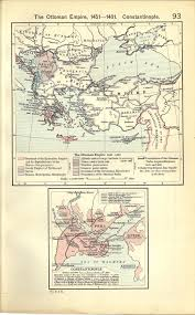 Byzantine Empire Map Historical Atlas By William R Shepherd Perry Castañeda Map