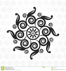 ornamental pattern for wedding invitations greeting cards stock