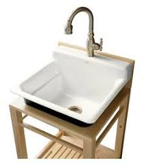 stand alone utility sink 18 one compartment commercial sink powder room laundry room