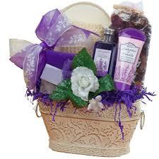 lavender gift basket of appreciation lavender renewal spa bath and