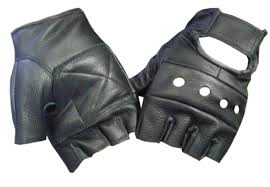ladies motorcycle gloves amazon com black leather fingerless motorcycle biker glove