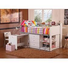 Childrens Bedroom Furniture With Desk Twin Loft Bunk Bed Storage Desk White Kids Bedroom Furniture Girls