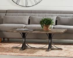 Trestle Coffee Table Iron Trestle Coffee Table Magnolia Home