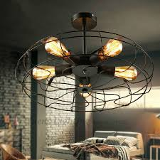 industrial style ceiling fan with light industrial style ceiling fan with light retro fans intended for