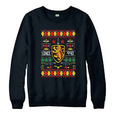 harry potter jumper xmas gryffindor christmas jumper gift top ebay