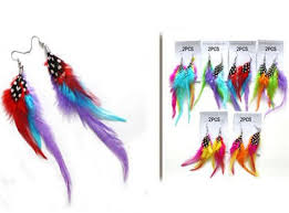 80s feather earrings 80 s feather party earrings