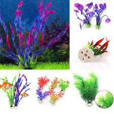 plastic fish tank plants ebay