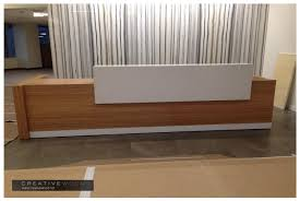 Reception Desk Wood Reception Creative Wood