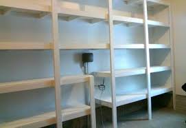 Building Wooden Garage Storage Shelves by Garage Storage Shelves Diy Garage Storage Shelves Designs And