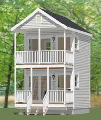 Two Story Small House Plans 20x20 Tiny House 20x20h7b 1 082 Sq Ft Excellent Floor