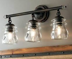 Bathroom Vanity Light Shades Farmhouse Bathroom Lighting Exquisite Industrial Rustic Farmhouse