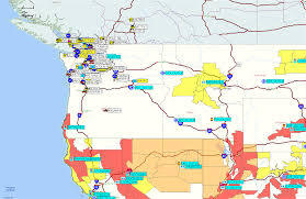 map usa northwest pmapserver7 beta screenshot of northwest usa and southwest bc