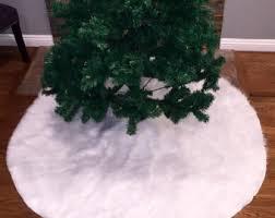 fur christmas christmas tree skirts fantasyfabricdesigns