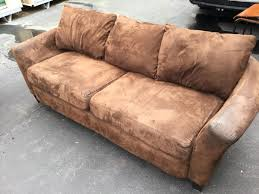brown living room set 2 piece brown microfiber living room set pet smoke free pickup