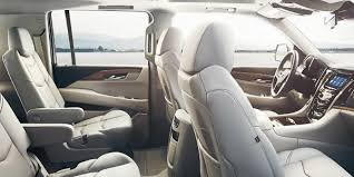 how many seats does the 2017 cadillac escalade