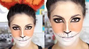 fox halloween makeup tutorial 2015 youtube