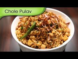 Main Dish Rice Recipes - chole pulav quick and easy to make main course rice recipe