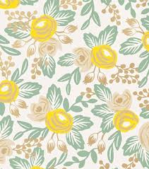 Paper Wallpaper by Rosa Yellow Wallpaper Rifle Paper