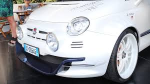 fiat 500 fiat 500 giannini is super city car with 350 hp from alfa romeo