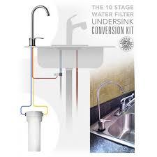 water filter under sink 10 stage water filter under sink under sink water filter kit