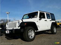 jeep rubicon white 2015 bright white jeep wrangler unlimited sport 4x4 100229586