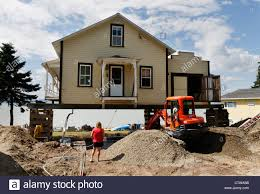 Building A House In Ct by A House In Canada Jacked Up On Stilts So That The Owner Can Have