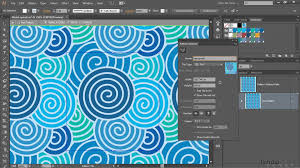 seamless pattern creator illustrator cc tutorial using the pattern generator lynda com