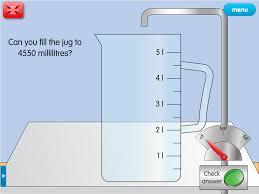measuring jug a year 5 capacity worksheet