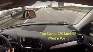 Audi Q5 8 Speed Tiptronic - audi q5 2 0 tdi top speed 220 km h on german autobahn youtube