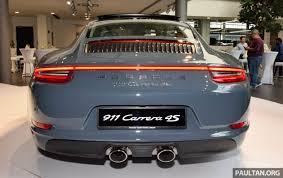 porsche 911 facelift porsche 911 facelift launched s and 4s