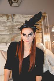 black bird makeup for halloween u2014 house of five