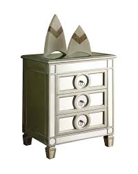 Accent Tables Cheap by Amazon Com Monarch Specialties 3 Drawer Accent Table Mirrored