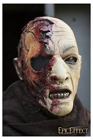 Zombie Mask Half Face Zombie Mask Epic Armoury Unlimited