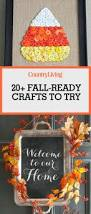25 best fall crafts easy diy home decor ideas for fall
