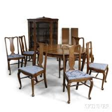 dining room furniture michigan search all lots skinner auctioneers