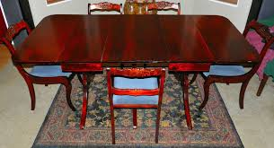 Duncan Phyfe Dining Room Table And Chairs Duncan Phyfe Drop Leaf Table Ebay