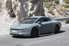 volkswagen xl1 sport 2013 volkswagen xl1 hybrid spied testing in spain