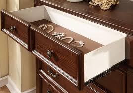 Dark Oak Wood Furniture Landaluce Bedroom In Antique Style Dark Oak W Options