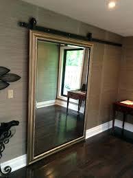 Closet Door With Mirror Barn Door With Mirror Contractors Wardrobe Mirrored Closet Doors