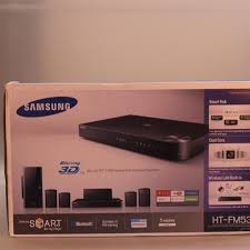samsung blu ray home theater samsung ht fm53 blu ray 3d dvd home theater entertainment system
